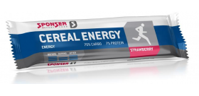 Sponser Cereal Energy Bar 40 g, maasikas