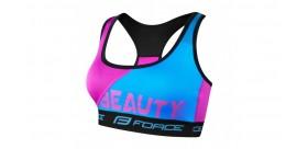 Spordirinnahoidja  FORCE BEAUTY helesinine/roosa