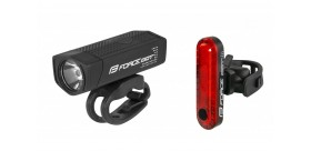 Jalgratta tulede komplekt  USB dot  FRONT+REAR